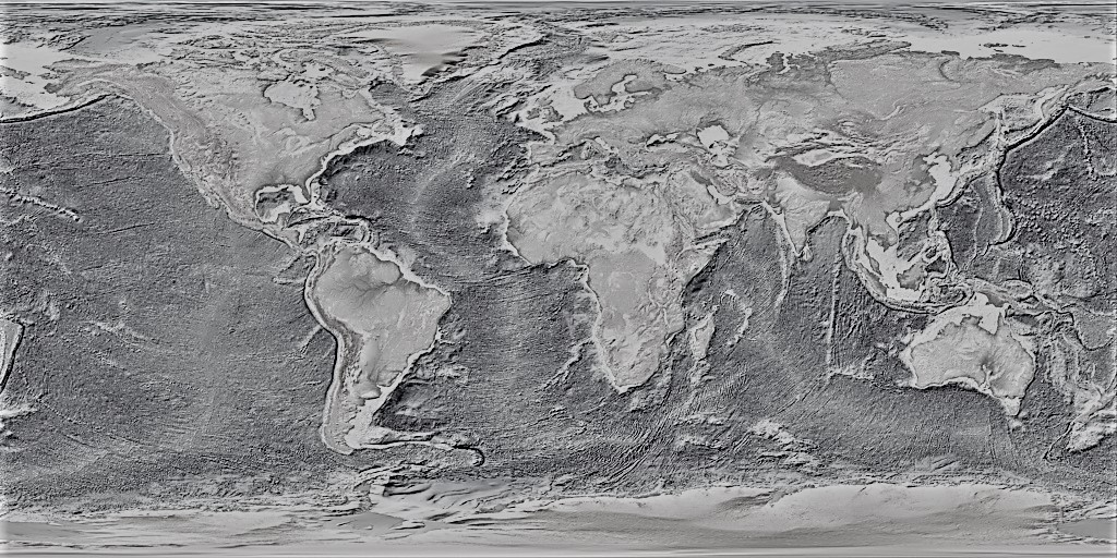 mapa mundi fisico blanco y negro mudo